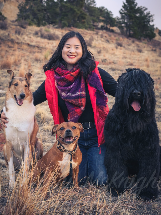 Hi I'm Lian! I'm currently a college student working on my Business degree. I've been showing dogs for 9 years and have titled multiple dogs in conformation and performance events. I plan to continue my career in the dog show world and look forward working with you and your dogs.
